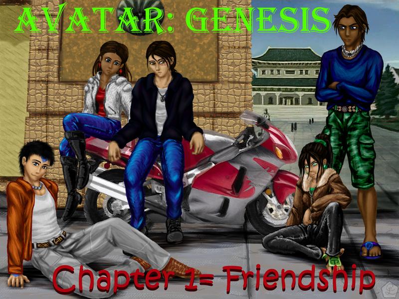 Avatar: Genesis by AylaOfZeladonii