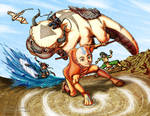 Collab: Avatar GAang Colored