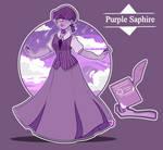 Purple Sapphire_Phire- GEMSONA