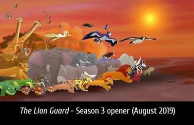 Lion guard season three opener by aliciamartin851