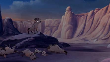 lion guard Tunu and wema sleeping by aliciamartin851