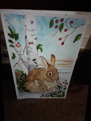A old bunny painting i did