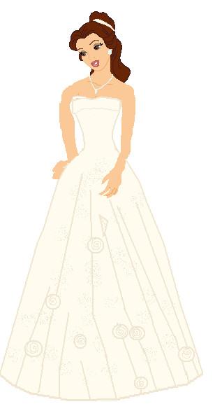 belle 39 s wedding gown by disneyboi411 on deviantart