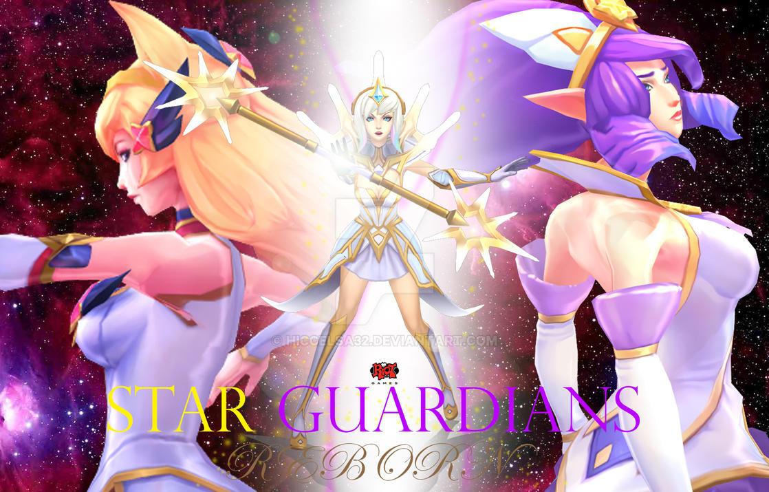 Star Guardians: Reborn Wallpaper by HiccElsa32