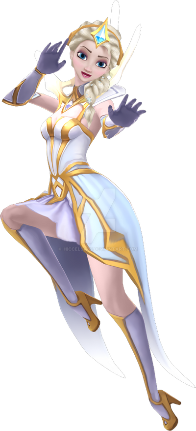 [MMD] Elementalist Elsa Pose 1 by HiccElsa32