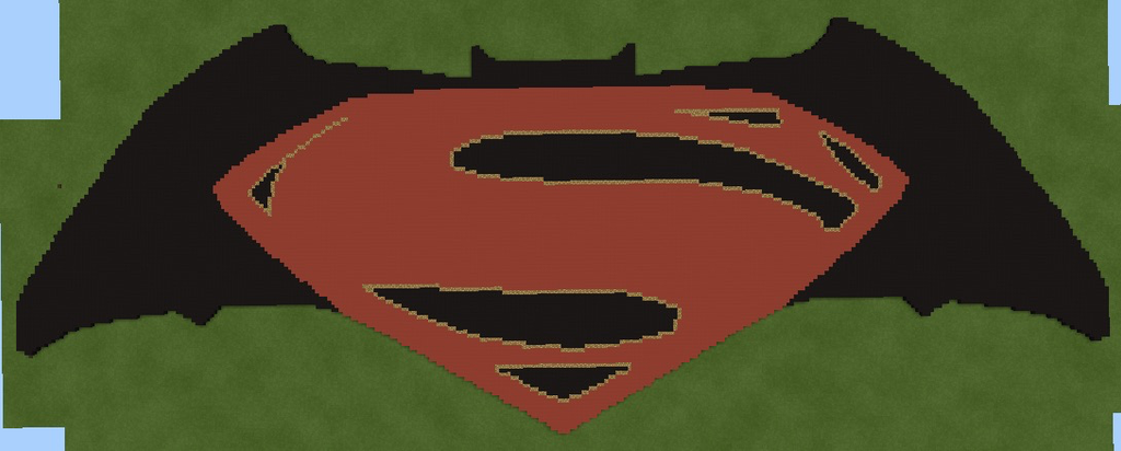 Batman V Superman Dawn Of Justice Pixel Art By Maxuelzombie