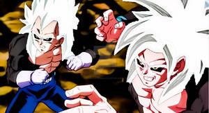 Goku and Vegeta Ssj 5 (Dragon Ball AF)