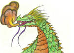 Chinese fire dragon