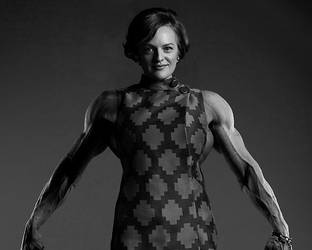 Female Muscle on Television: Mad Men's Peggy Olson by Rasmane