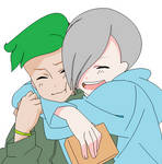 Jack and Aaron - Snuggle