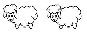 F2U- Chibi Sheep Base