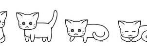 F2U- Chibi Cat Bases 2