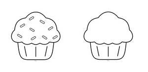 F2U- Cupcake or Muffin Base