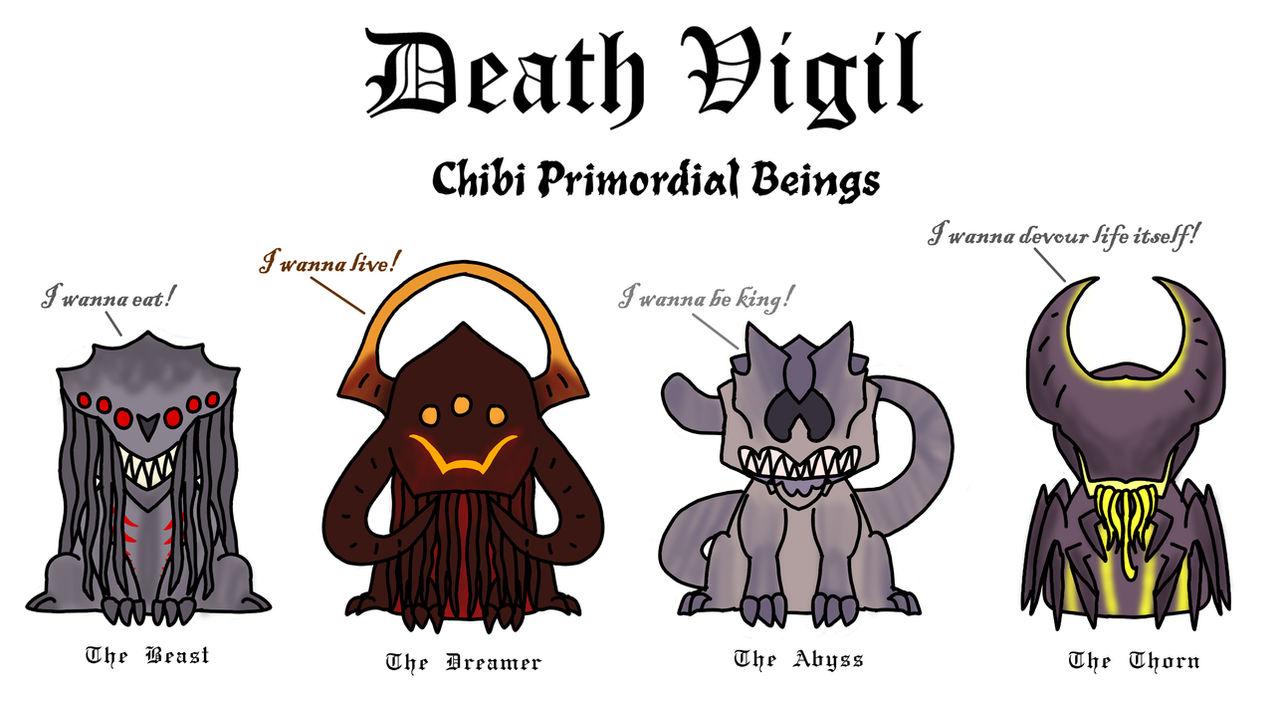 Fan Art- Death Vigil- Chibi Primordials