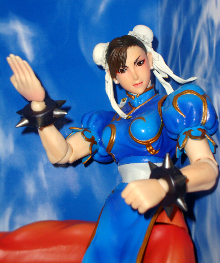 Chun-Li Play Arts Kai by Mayleth