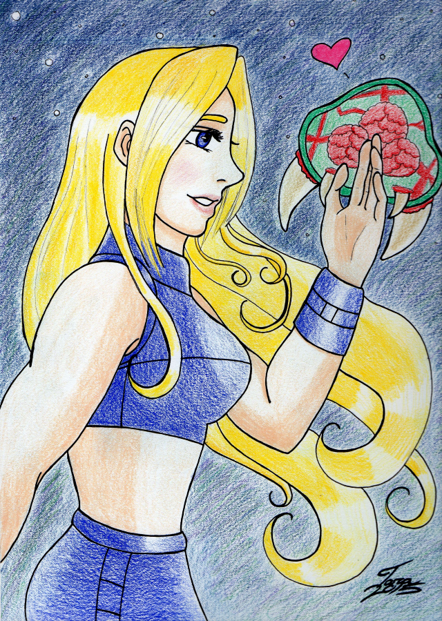 The Baby Metroid by Amalthea16
