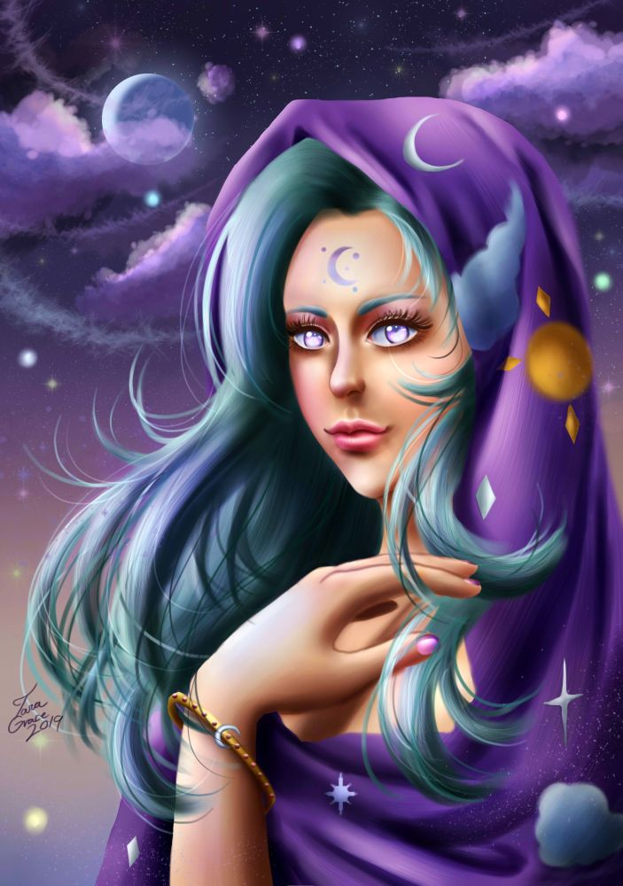 Night Goddess by Mayleth