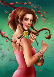 Aerith, the Flower Girl