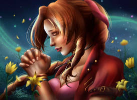 Aerith Gainsborough by Mayleth