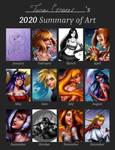 2020 Summary of Art by Mayleth