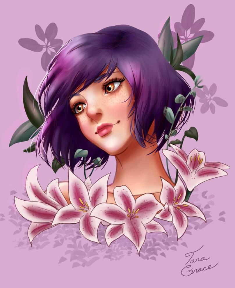 Blooming Lilies