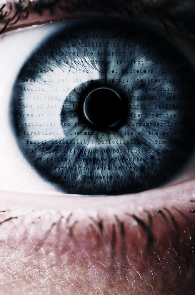 Eye with my big eye. by workatron