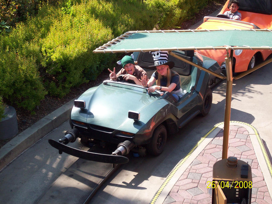Kevin and Erin on Autopia by foxanime101 on DeviantArt