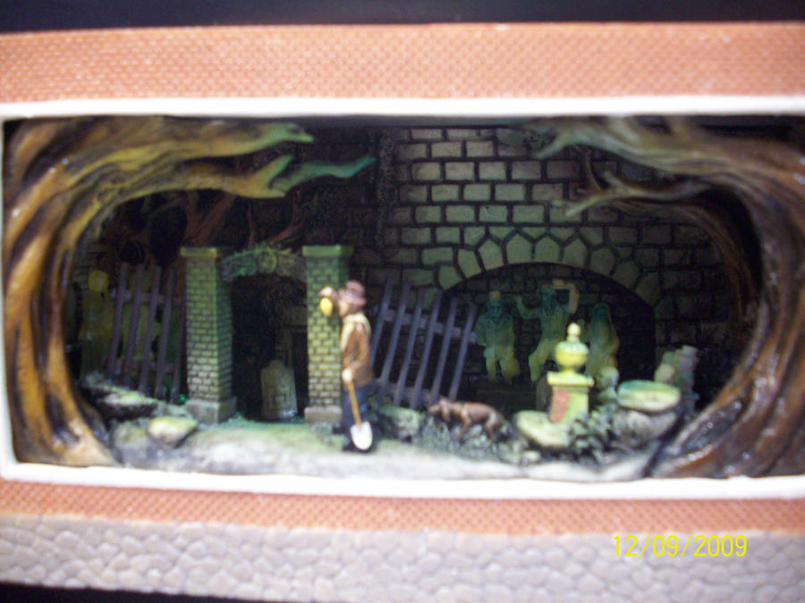 D23: Haunted Mansion Model 3 by foxanime101
