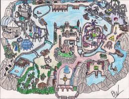 Nintendo Sea Park by foxanime101