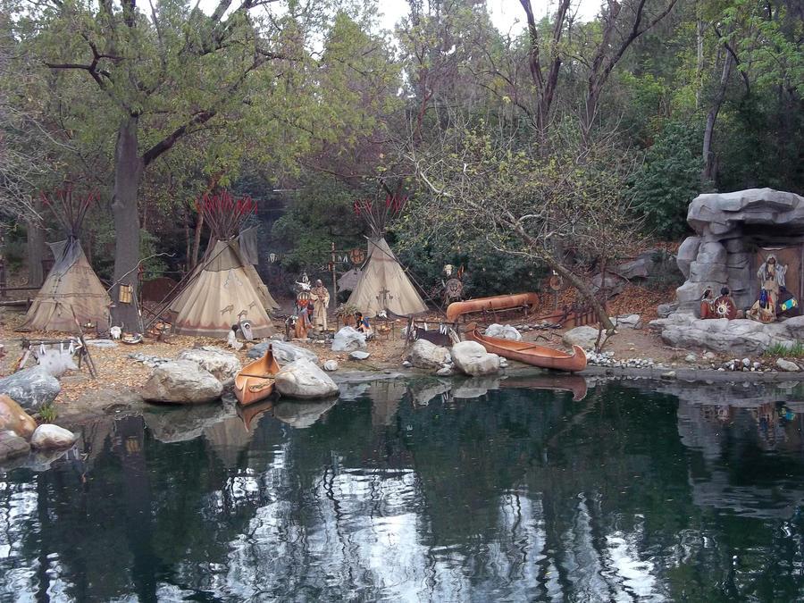 Native American Village by foxanime101 on DeviantArt