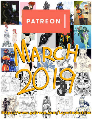 March Patreon Zip Pack by CommanderRab