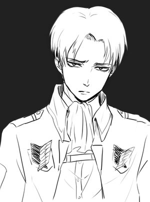 Levi Rivaille by JadeDeng