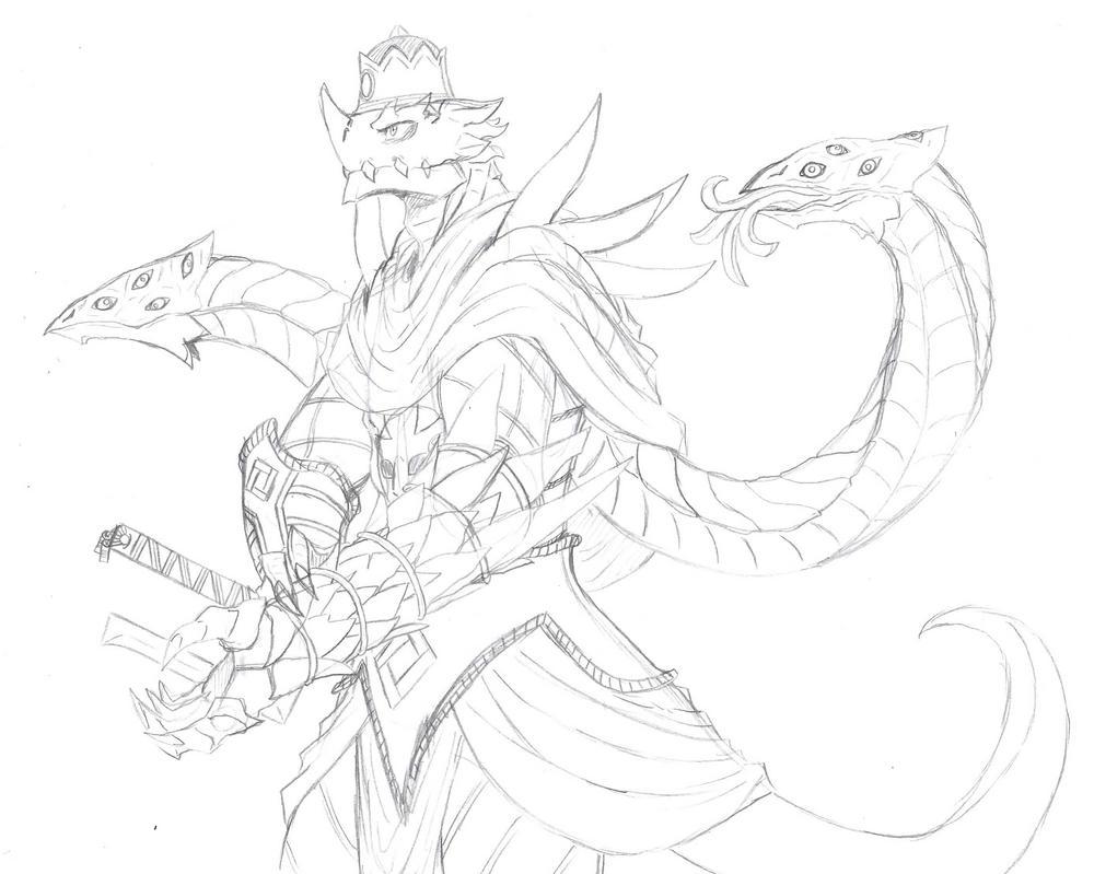 the Dragon King by kiahl