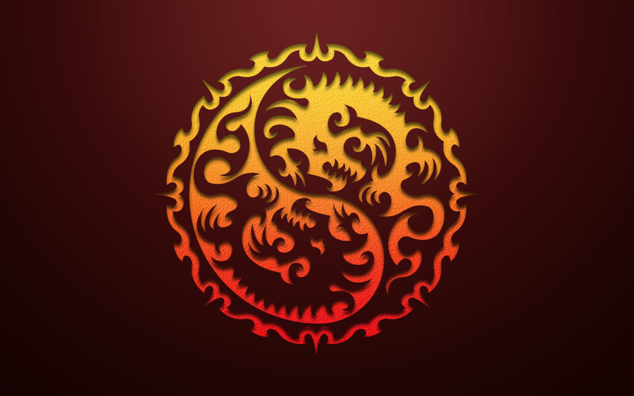 Year of the Dragon 2012 Red by kybrdgal