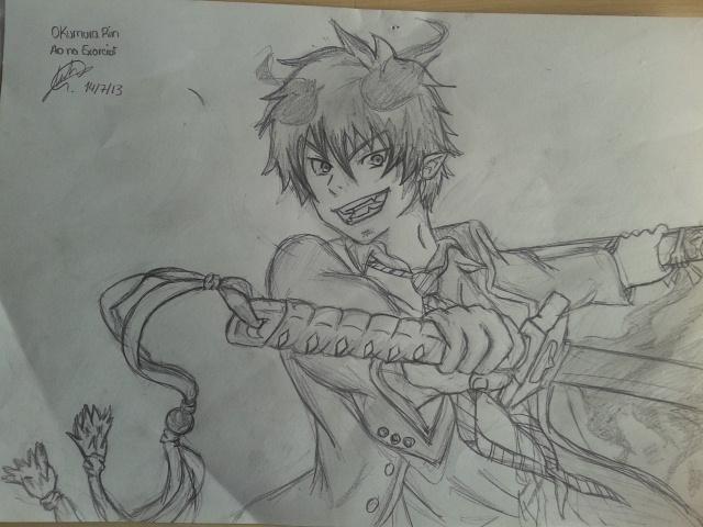 Rin- Ao no exorcist by nuriareinah