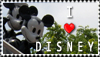 I love Disney stamp by Clockheart