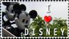 I love Disney stamp