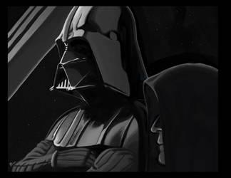 Darth Vader - Darth Sidious by Werkingethorex