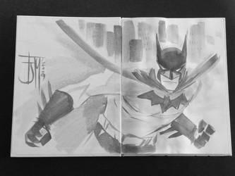 Batman - Francis Manapul by Werkingethorex