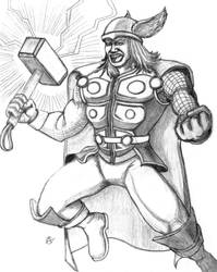 Thor by Werkingethorex