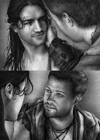 Nagron First Kiss (Spartacus)