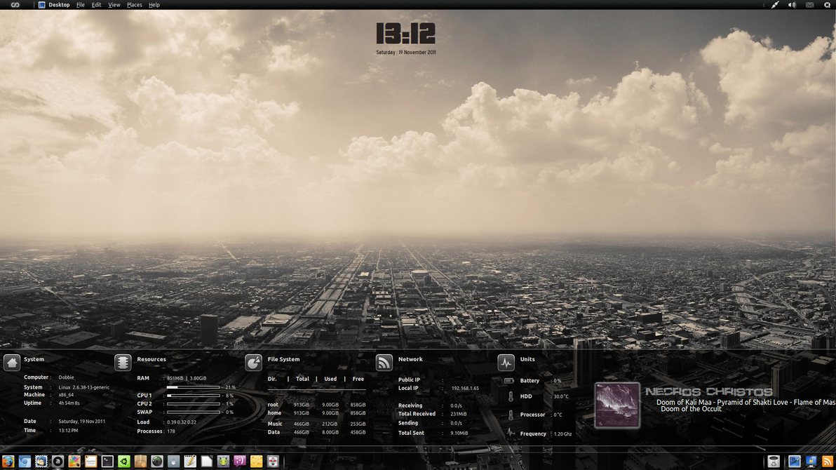 HUD Desktop 19th Nov by Dobbie03