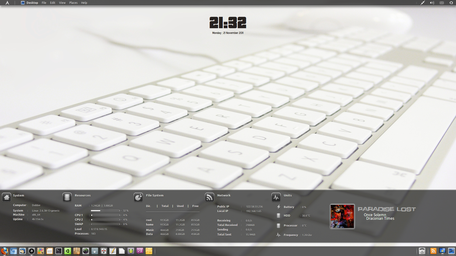 HUD Desktop Refined by Dobbie03