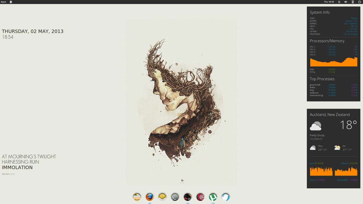 Numix Ubuntu by Dobbie03