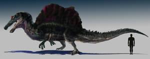 Spinosaurus aegyptiacus (non-feathered)
