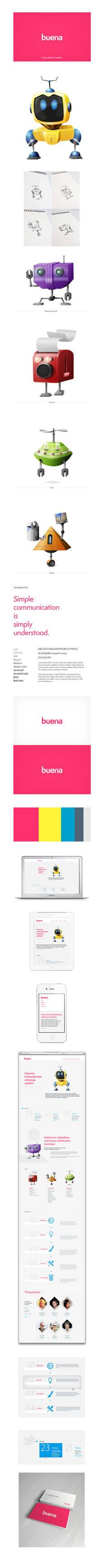 Buena - Visual Identity and Web Design
