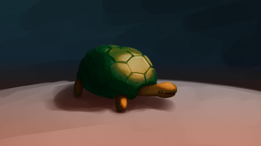 Turtle Wallpaper by Echolaitoc