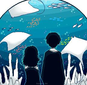 Blue world by ruichou