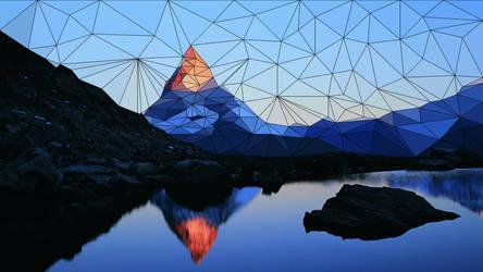 Mountain Triangle Scene