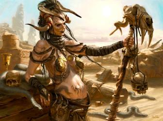 Desert Witch by Filipe-Pagliuso